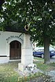Wayside cross near chapel in Blažejovice, Benešov District.jpg