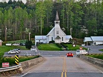 Webster, North Carolina - Webster Baptist Church