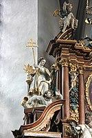 Wehr, Kirche - Seitenaltar li., St. Norbert (2014-10-01 857).JPG
