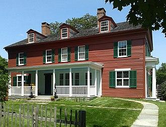 Weir Farm National Historic Site - The main house