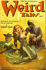 Weird Tales cover image for September 1938