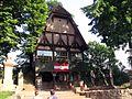 Wejście do zamku Grodno IMG 3255 krz.JPG