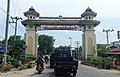 Welcome gate to Langkat, Sumatra Utara.jpg