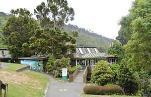 Wellington Botanic Garden - Treehouse, the Education and Environment Centre of the Garden