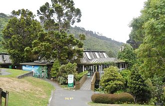 Wellington Botanic Garden - Treehouse, the Education and Environment Centre of the Garden