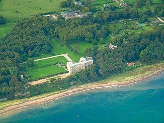 Clan Wemyss - Wemyss Castle, seat of the chiefs of Clan Wemyss since the twelfth century.