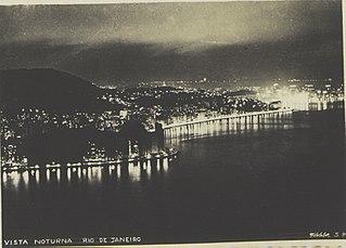Vista noturna - Rio de Janeiro