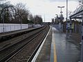 West Dulwich stn look east.JPG
