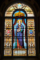 Wexford Friary Window Saint Elisabeth of Hungary 2010 09 29.jpg