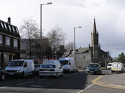 The centre of Bannockburn