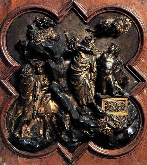 Wga ghiberti sacrifice of Isaac