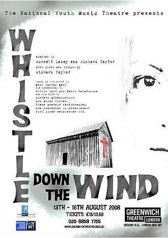 National Youth Music Theatre - Image: Whistle Down The Wind