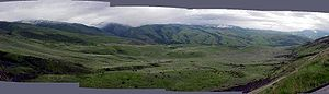 Battle of White Bird Canyon - White Bird Battleground panorama, Idaho, 2003