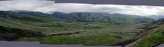 Battle of White Bird Canyon - White Bird Battleground panorama, Idaho, 2003