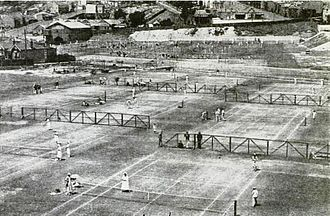 White City Stadium (Sydney) - White City Tennis Club circa 1923