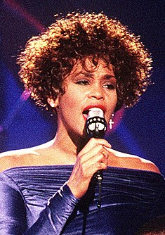 Whitney Houston American singer and actress