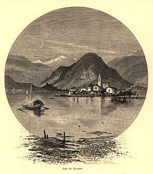 Francis Walker (entomologist) - Isola Pescatori, Lake Maggiore by Josiah Wood Whymper