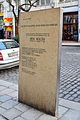 Wien-Innere Stadt - Gedenktafel für Aron Menczer vor der Marc-Aurel-Straße 5.jpg