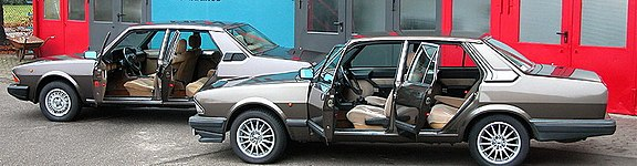 Alfa Romeo Alfa 6 first and second series