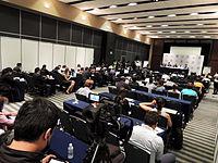 Wikimanía 2015 - Day 2 - Press Conference - LMM - México D.F. (18).jpg