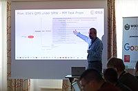Wikimedia Hackathon Vienna 2017-05-19 Fantastic MediaWikis 006.jpg