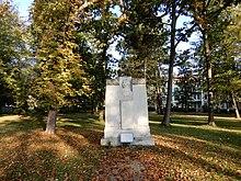 Denkmal in Franzensbad, Adolf Mayerl 1910 (Quelle: Wikimedia)