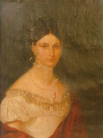 Duke William Frederick Philip of Württemberg - William's wife Wilhelmine von Tunderfeld-Rhodis