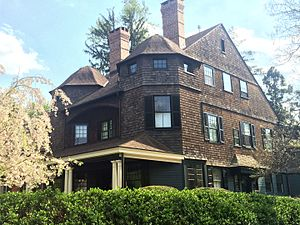 A. Page Brown - One of Brown's earlier works, the William Berryman Scott House at 56 Bayard Lane, Princeton, New Jersey, in the Princeton Historic District (1888)