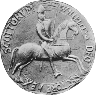 William the Lion King of the Scots from 1165 to 1214