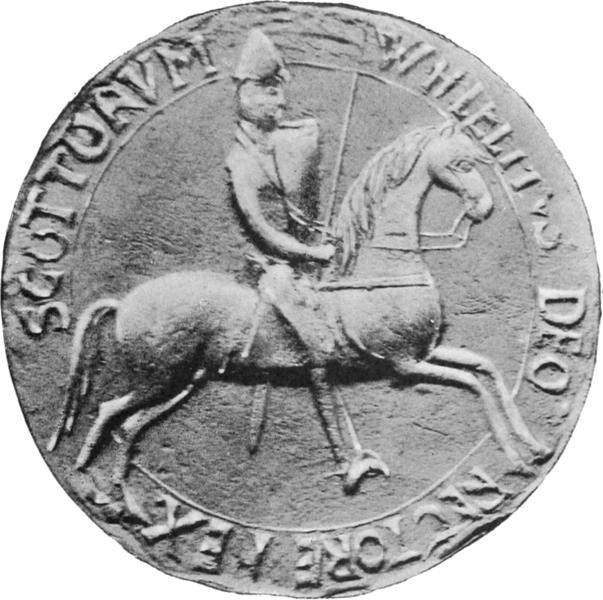 File:William I, King of Scots (seal 01).png