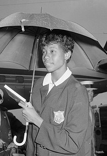 Wilma Rudolph African American athlete