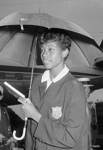 Wilma Rudolph - Rudolph in 1960
