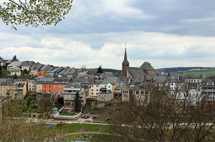 Wiltz (Grand Duchy of Luxembourg): general view