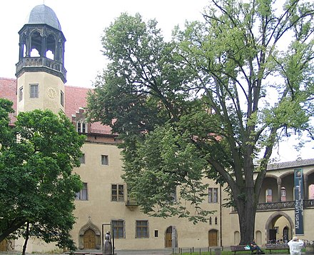 Lutherhaus, Luther's residence in Wittenberg