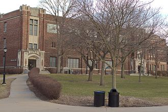 University of Wisconsin–La Crosse - Wittich Hall, the second building built on campus