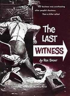The Next Witness short story by Rex Stout