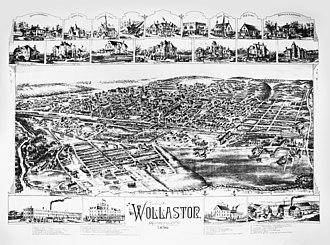 Wollaston (Quincy, Massachusetts) - Wollaston in 1890