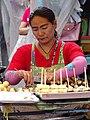 Woman Vendor in Market - Chinatown - Bangkok - Thailand - 02 (34328644330).jpg