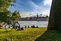 Woman relaxing at Skeppsholmen, Stockholm - panoramio.jpg