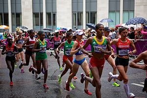 Athletics at the 2012 Summer Olympics – Women's marathon - Image: Women's Marathon London 2012 006