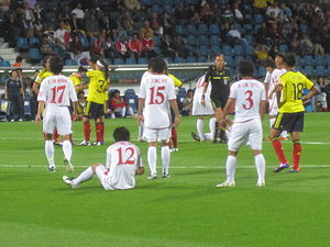 North Korea women's national football team - The team at the 2011 FIFA Women's World Cup