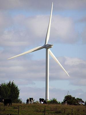 Wonthaggi - Six Turbine Wind Farm, From Lower Powlett Road