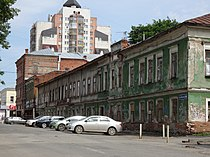 Wooden Building and our Hotel Building Perm Russia (14504155812).jpg