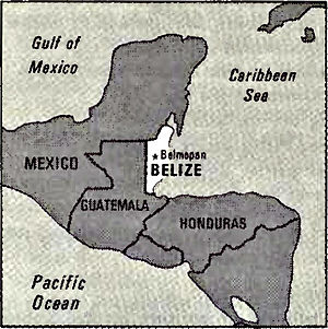 World Factbook (1982) Belize.jpg