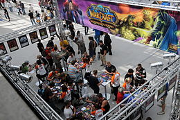 Area dedicata al gioco alla Games Convention