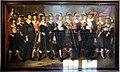 Wouter crabeth il giovane, gli ufficali delle quattro compagnie di milizia di gouda col loro capitano col. herman herbertsz., 1644.jpg