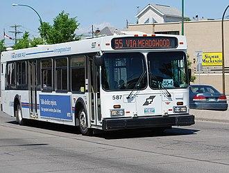 Winnipeg Transit - A Winnipeg transit bus