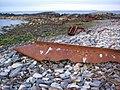 Wreck at Longa Skerry, Brim Ness - geograph.org.uk - 1453458.jpg
