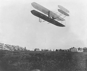 Fort Myer - Orville Wright flying at Fort Myer, September 9, 1908