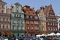 Wrocław Breslau Plac Solny3 West front.JPG